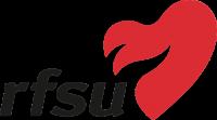 RFSU logo med rødt hjerte