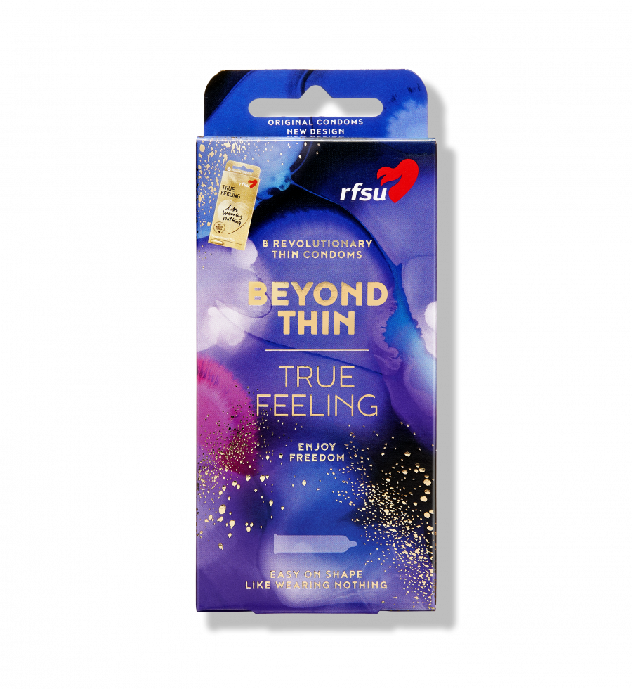 Produktbillede af Beyond Thin kondomer fra RFSU.