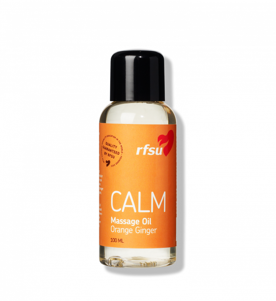 Produktbillede af Calm Massage Oil fra RFSU.
