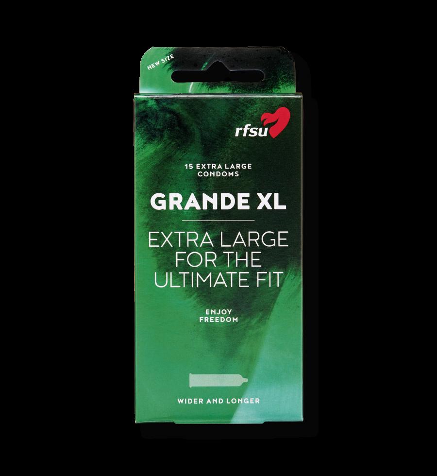 Produktbillede af Grande XL kondomer fra RFSU.