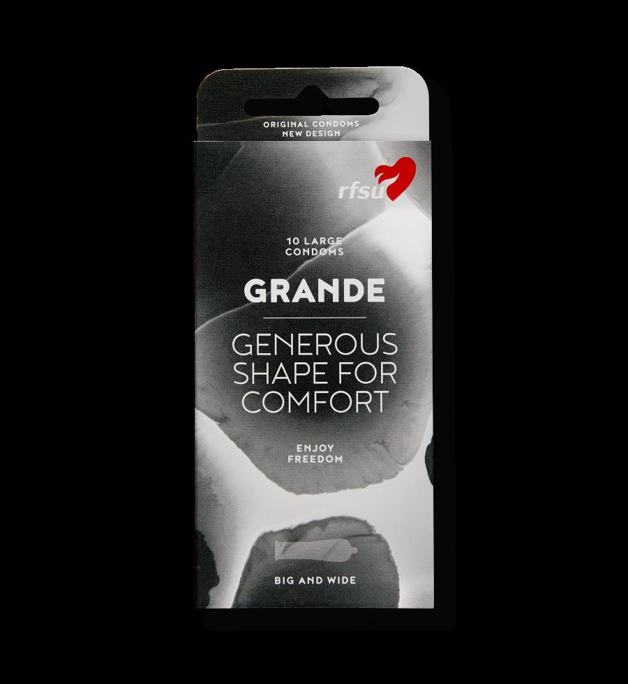 Produktbillede af Grande kondomer fra RFSU.