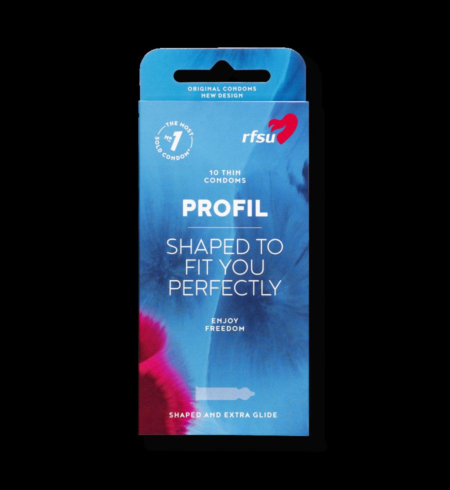 Produktbillede af Profil kondomer fra RFSU.
