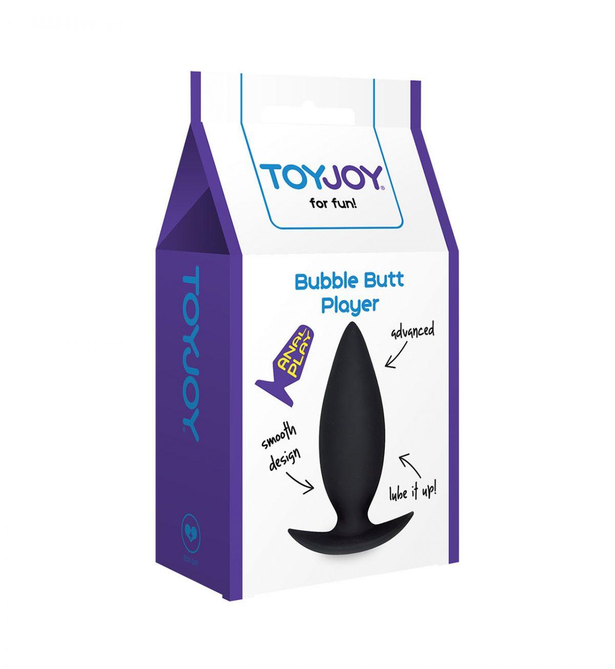 Bubble Butt Player Advanced - En analplugg for den erfarne brukeren - Toyjoy
