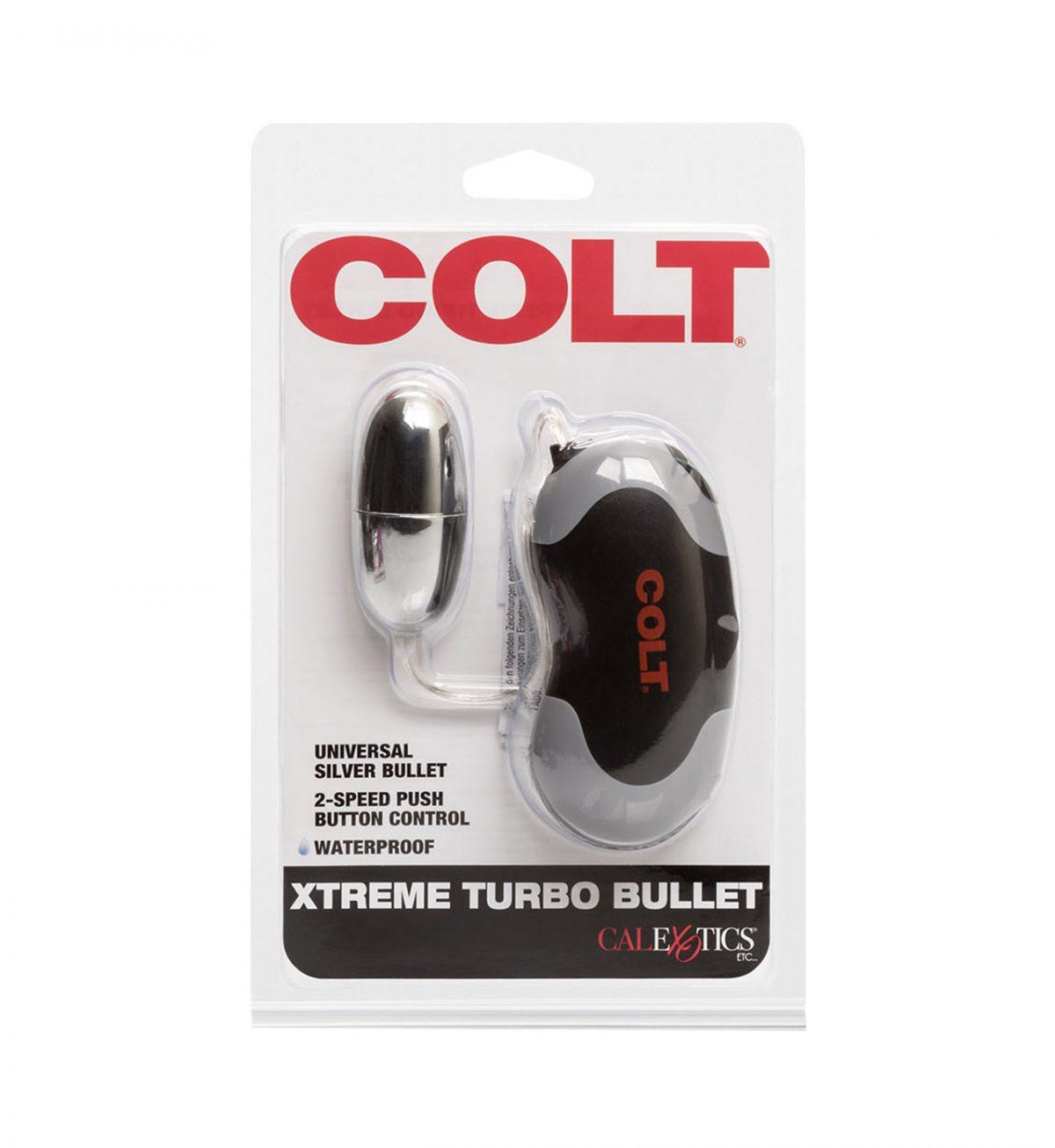 Xtreme Turbo Bullet - Kraftfull eggformet vibrator - COLT