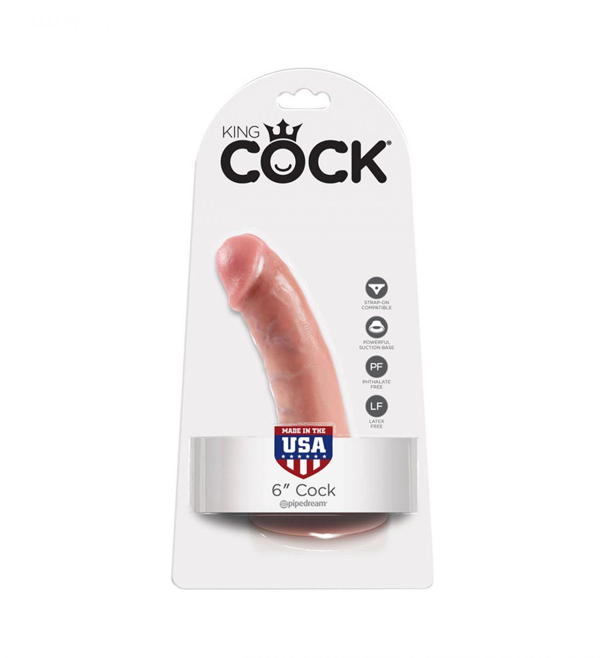 Cock 15 cm - Dildo 15 cm med sugekopp - Pipedream