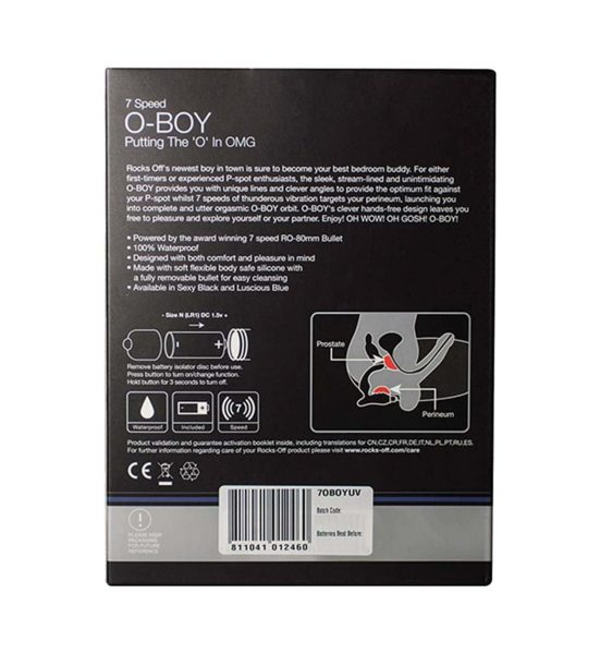 O-Boy - Vibrerende prostatastimulator - Rocks-Off