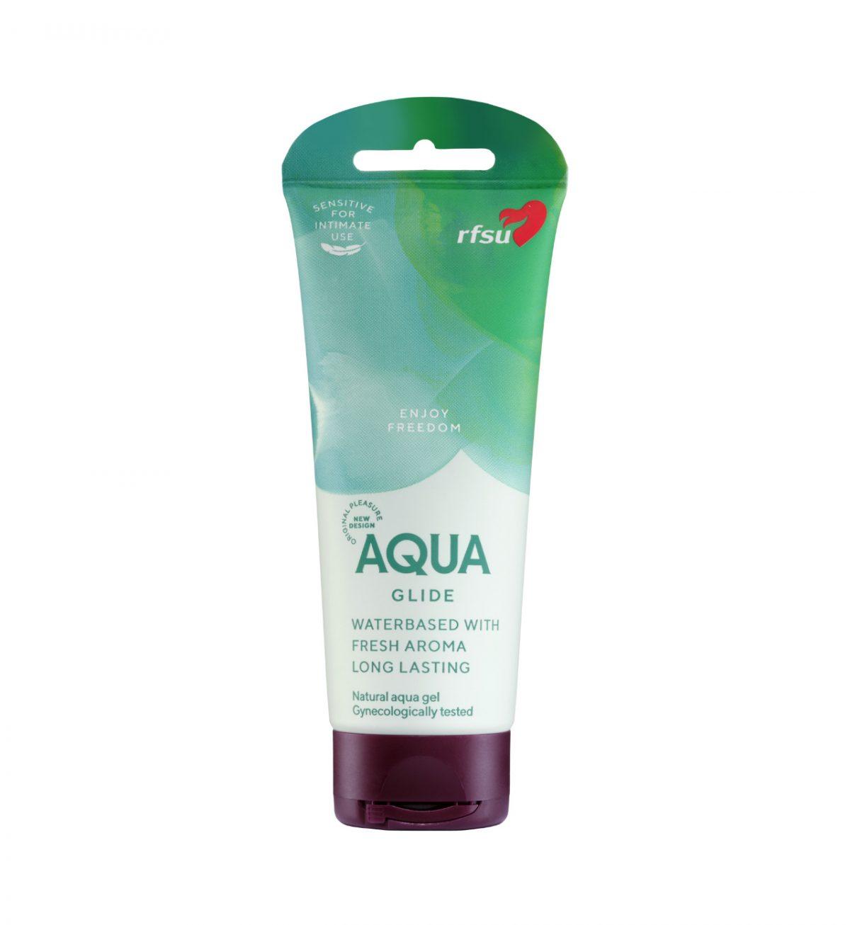 aqua glide glidmedel 100 ml rfsu front