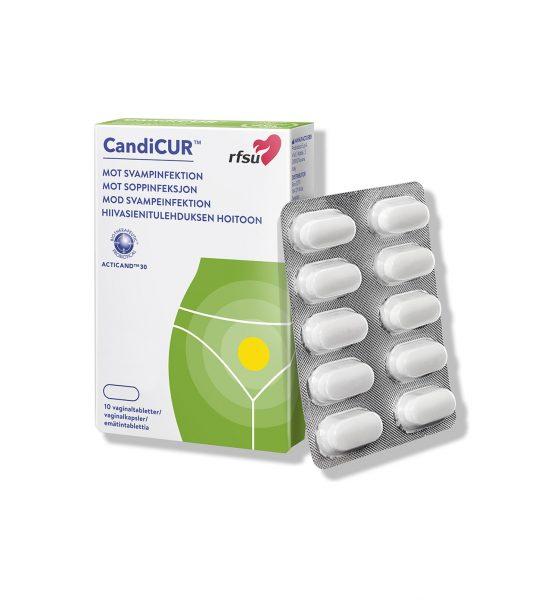 CandiCUR - Motvirker soppinfeksjon i underlivet - RFSU