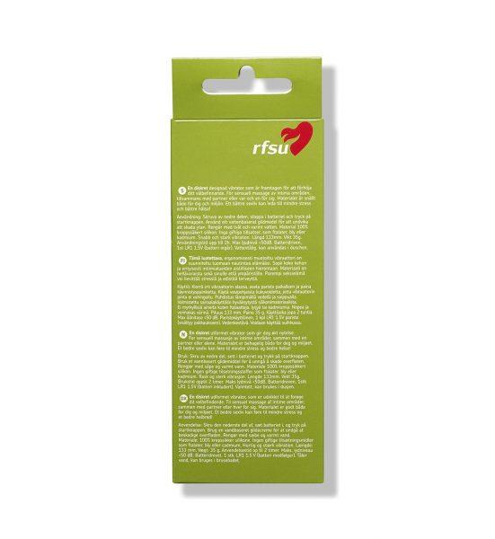 Play vibrator - Liten, batteridrevet vibrator - RFSU