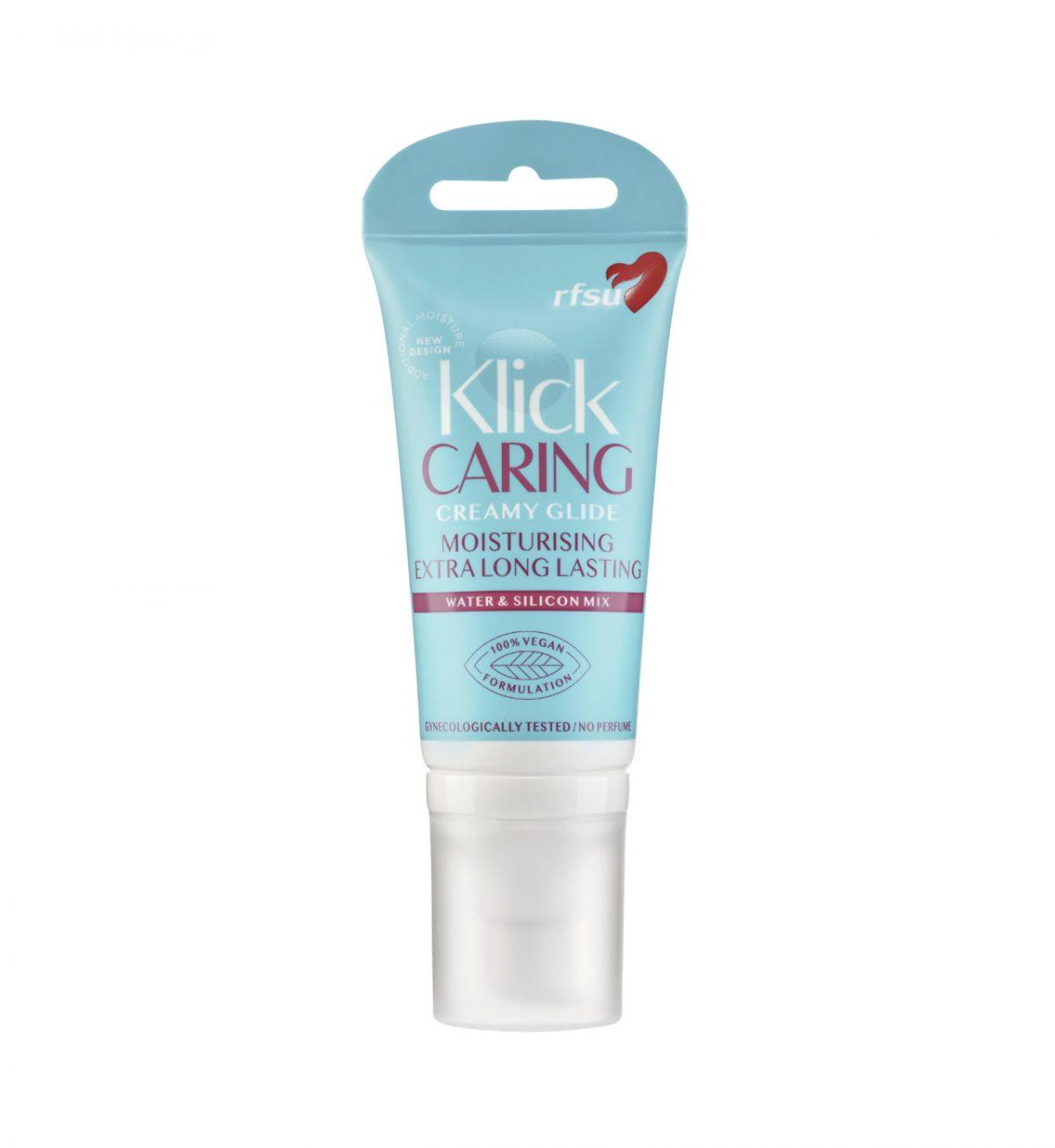 Klick Caring Glide 50ml - Fuktighetsgivende glidemiddel for tørre eller skjøre slimhinner - RFSU