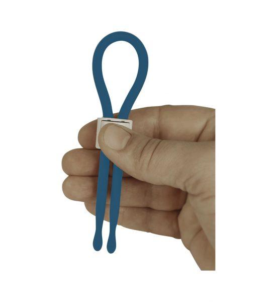 Buddy Erectionholder Cyan Blue - Praktisk justerbar ereksjonsholder - Tickler