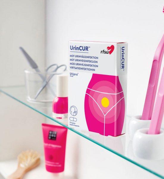 UrinCUR Utipro Plus - Reseptfri behandling mot urinveisinfeksjon - RFSU