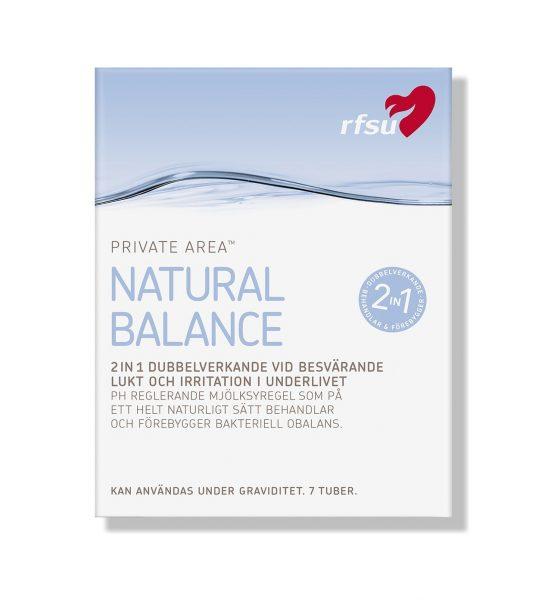 Natural Balance - Mot ubalanse i underlivet - RFSU