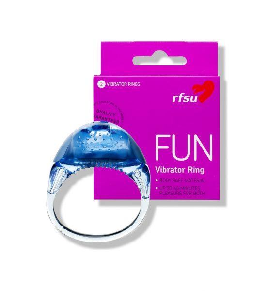 FUN Vibratorring - Vibratorring for 45 minutters nytelse - RFSU