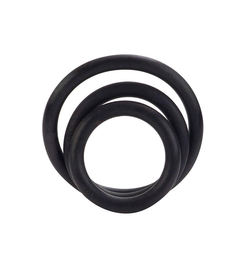 Rubber Ring – 3 Piece Set - Penisringer i tre størrelser - CalExotics