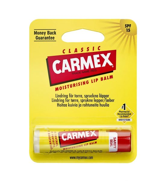 stick 1 stk - Carmex Leppebalsam i praktisk stift - Carmex