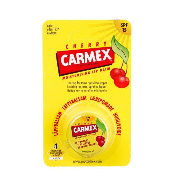 Cherry krukke 1 stk - Carmex med kirsebærduft - Carmex
