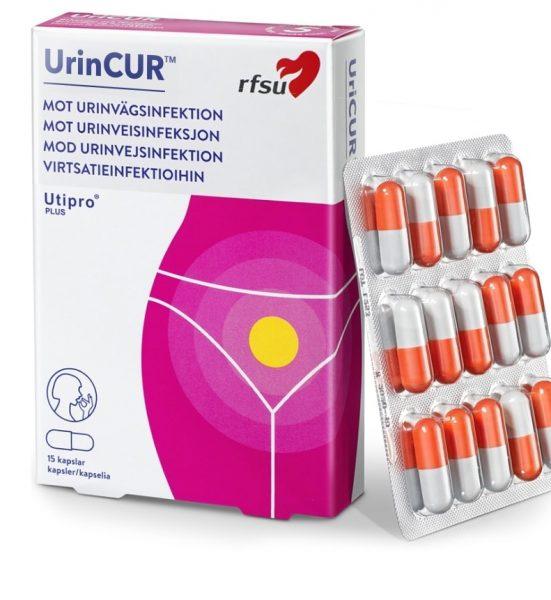 UrinCUR Utipro Plus 2 stk - Reseptfri behandling av urinveisinfeksjon - RFSU