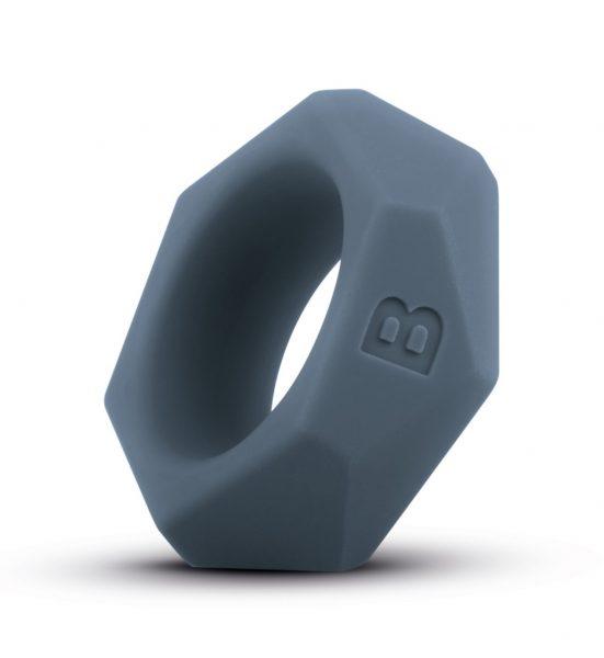 Diamond Cock Ring – Grey - Penisring av medisinsk godkjent silikon. - Boners