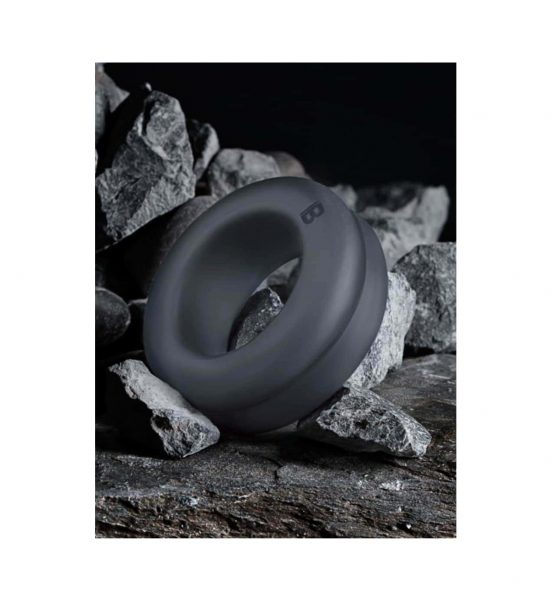 Double Design Cock Ring - Tykk penisring i TPE - Boners