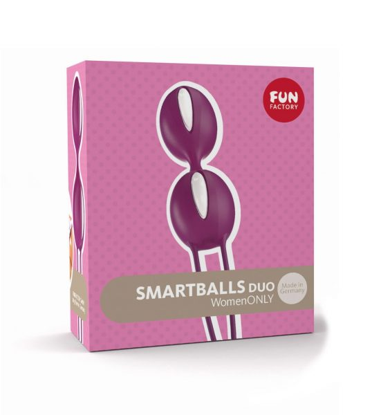Smart Ball Duo – Lilla - Knipekuler for trening av bekkenbunnen - Fun Factory