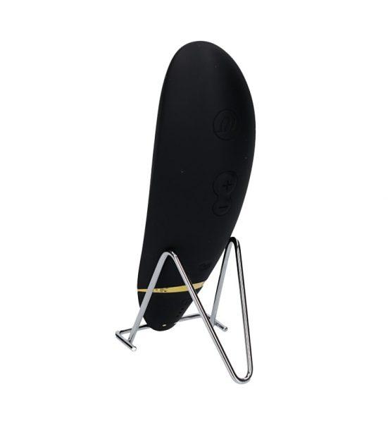 Premium – Svart - En stimulator som stimulerer klitoris med trykkbølger - Womanizer