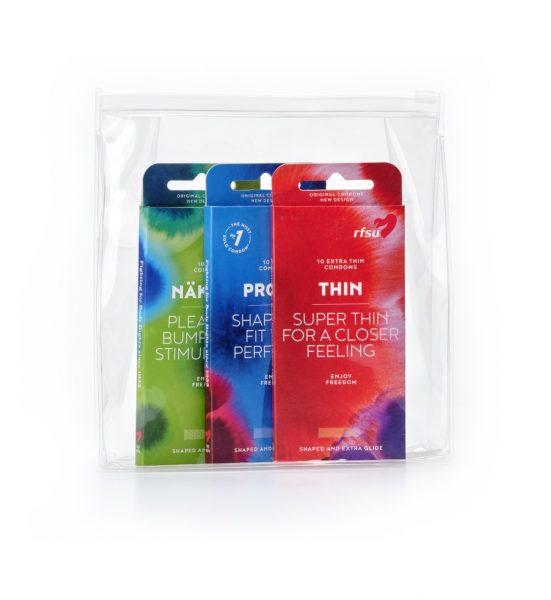 Klassikeren 30 stk - Et kondomsett for deg som vet hva du vil ha - RFSU