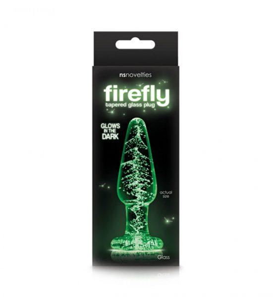 FireFly Glass Plug Medium NS Novelties