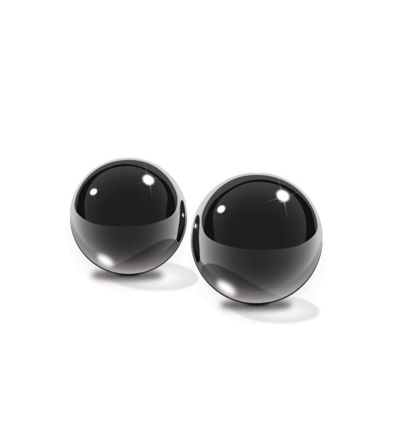 Glass Ben-Wa Balls, Medium - Knipekuler av borosilikatglass - Pipedream