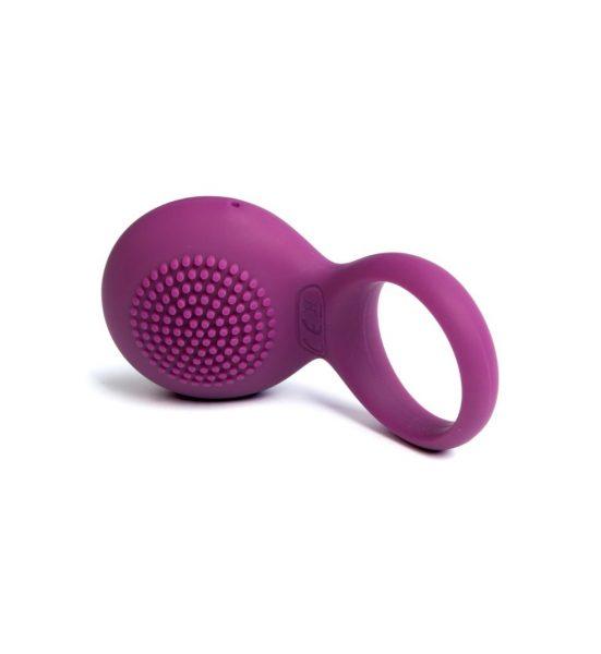 Tyler – lilla - Penisring med vibrator - Svakom