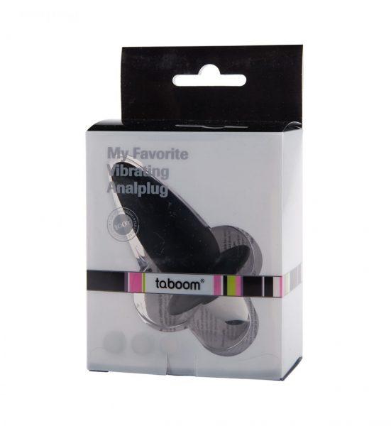 My Favorite Vibrating Analplug – Svart - VIbrerende buttplug - Taboom