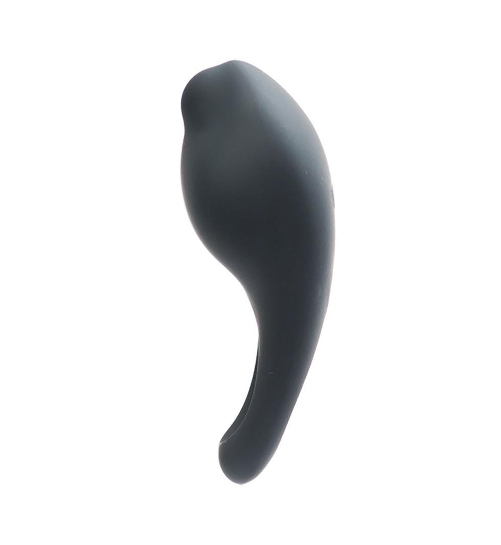 Roq Just – Svart - Penisring med klitorisstimulator - VeDO