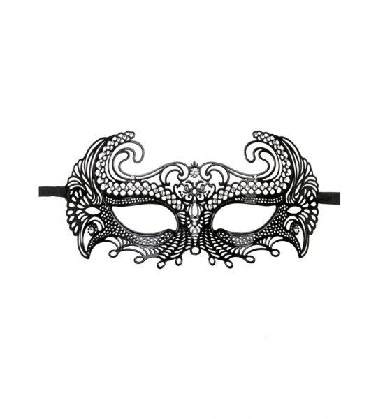 Metal Mask Venetian – Svart - Forførerisk sort maske - Easytoys
