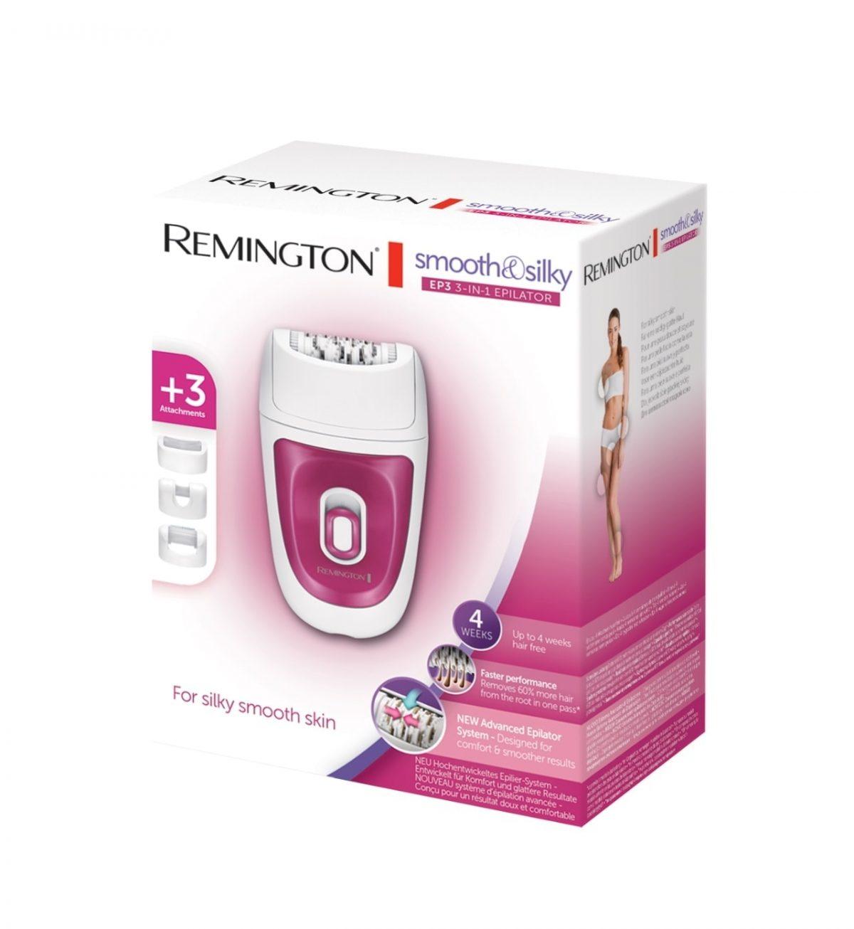 Smooth & Silky EP3 3-in-1 Epilator - Epilator for optimal komfort og glatt resultat - Remington