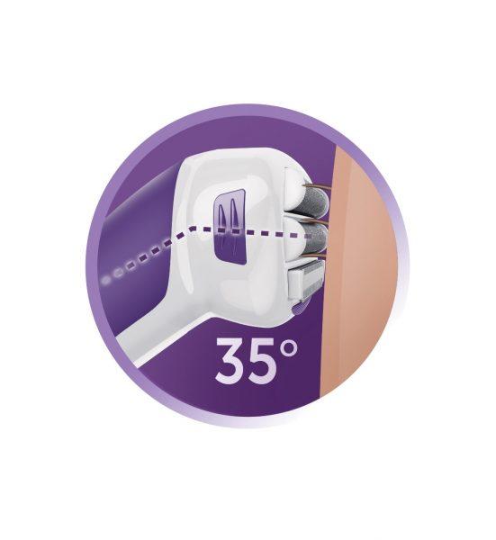 Smooth & Silky Rechargeable LadyShaver - Trimmer for myk og silkeglatt hud - Remington