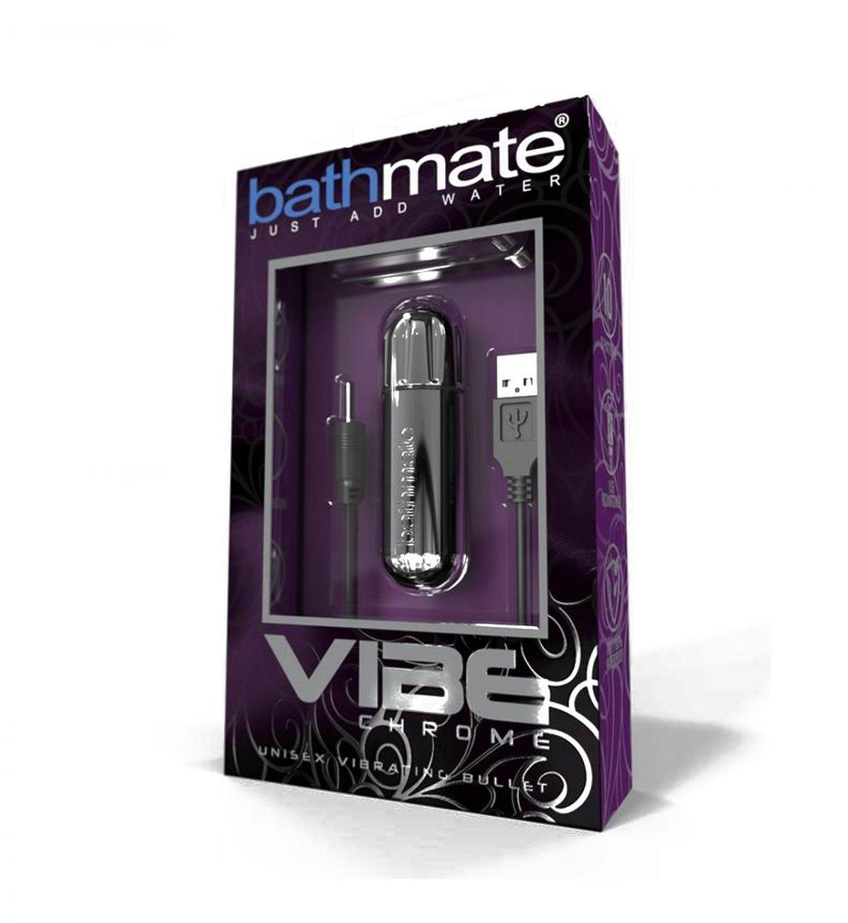 Vibe, Metall - Smidig kuleformet vanntett vibrator - Bathmate