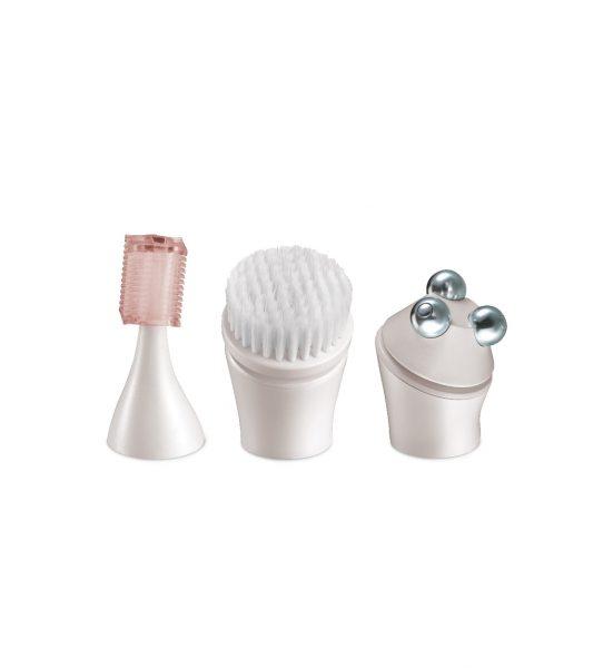 Smooth & Silky Ultimate Facial Care Kit - Minitrimmer for presisjonsbarbering og detaljering - Remington