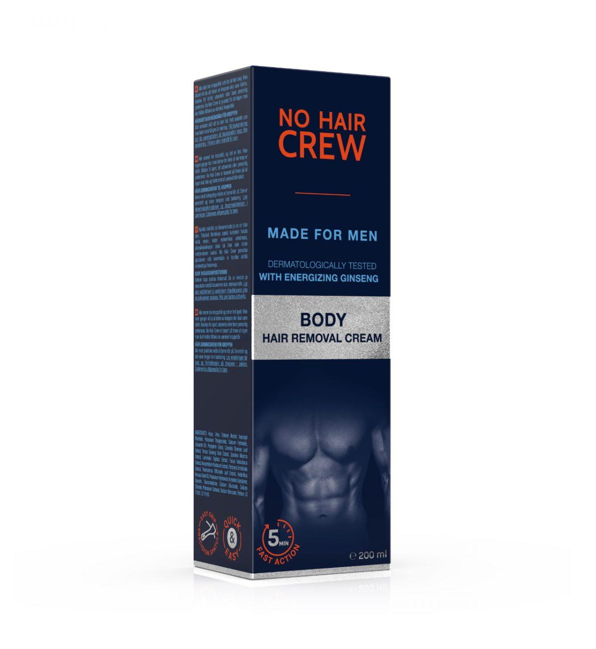 Body Hair Removal Cream -  - No Hair Crew