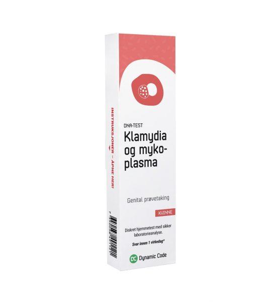 Klamydia- og mykoplasmatest Kvinne - Kombinasjonstest for to vanlige kjønnssykdommer - Dynamic Code