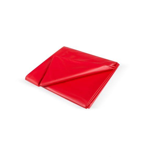Vinyl Laken 180×260, Rød - Vanntett og holdbart laken av vinyl - Joy Division