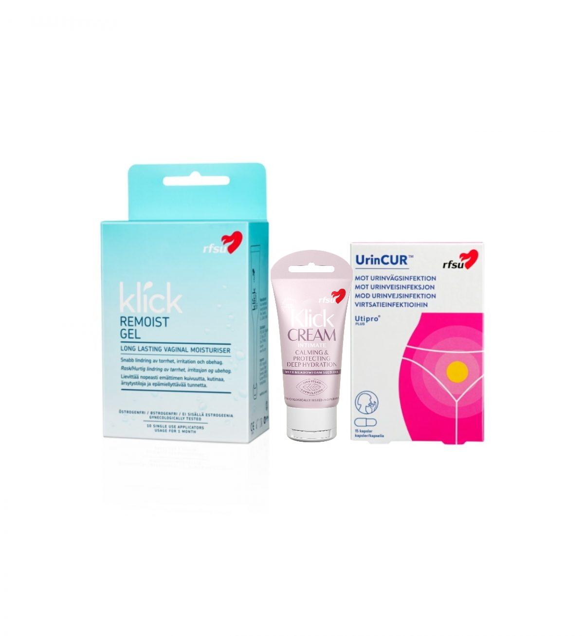 Sett mot urinveisinfeksjon - Forebyggende og behandlende av urinveisinfeksjon - RFSU