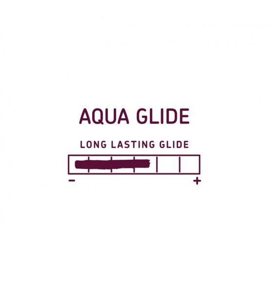Aqua Glide 40ml - VANNBASERT GLIDEMIDDEL I SMIDIG STØRRELSE - RFSU