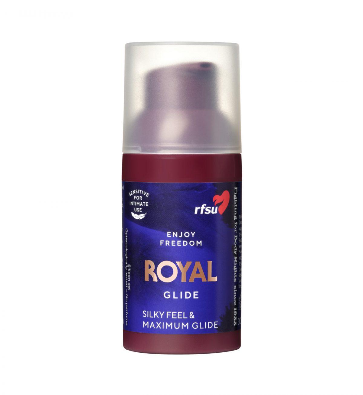 Royal Silk Glide 30ml - LUKSURIØST SILIKONBASERT GLIDEMIDDEL - RFSU