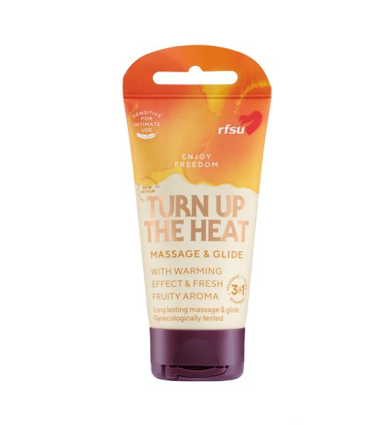 Turn Up The Heat 40ml - EKSTRA HETT GLIDEMIDDEL  - RFSU