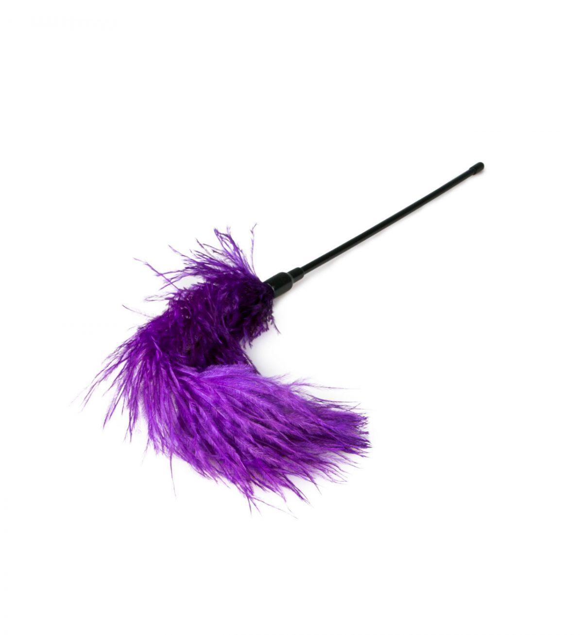 Fjær Tickler, Lilla - Myk fjærkiler i purpur - EasyToys