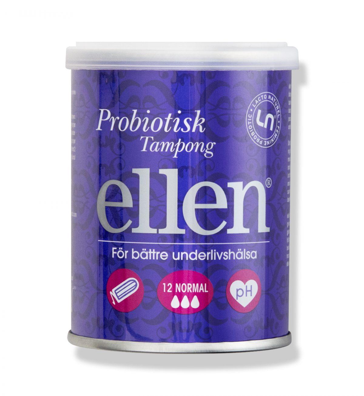 Probiotisk Tampong Medium - Probiotisk tampong - Ellen
