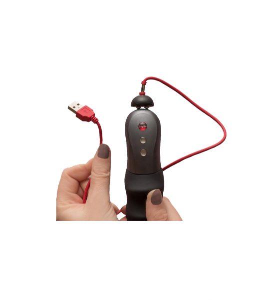 USB Laddare, Rød - Magnetisk USB-lader - Fun Factory