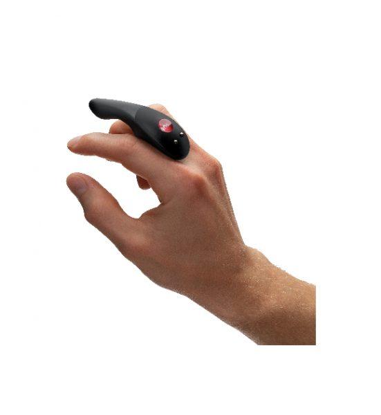 Be One, Svart - Stilig liten fingervibrator - Fun Factory