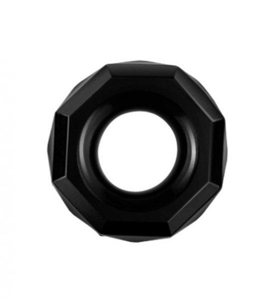 Powerplus Fleksibel Penisring, Svart - Penisring for en fyldigere ereksjon - LoveToy