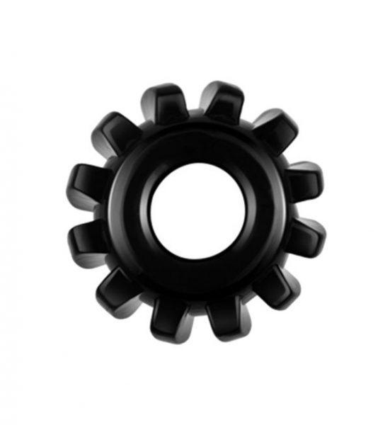 Powerplus Fleksibel Penisring med knotter - Myk og elastisk penisring - LoveToy